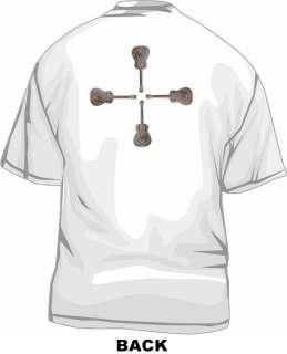 Resonator Metal Guitar Classic Logo Mens Tee Shirt