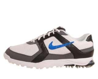 Air Range WP Wide White Mesh Blue Mens Golf Shoes 418539141