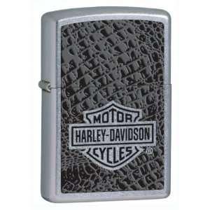 Harley Davidson Reptile Skin Zippo