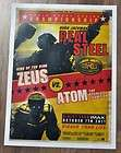 Real Steel Wave 1 ATOM vs ZEUS 2 pack versus duel NIP Light up efx WRB