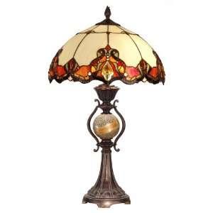 Dale Tiffany North Cape Art Glass Table Lamp