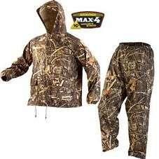 Mad Dog Ducks Unlimited Dri Flex Rain Suit RTMX4 Sz Medium