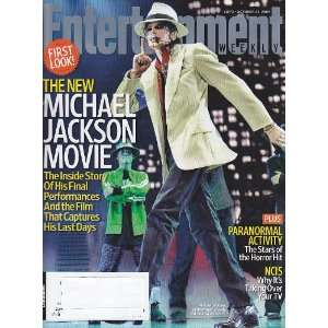 The New Michael Jackson Movie (#1072) Entertainment Weekly Books