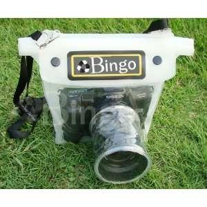 slr dslr camera waterproof dry case bag wp10 white