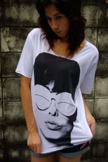 Audrey Hepburn New Wave 80s Punk Rock T Shirt M