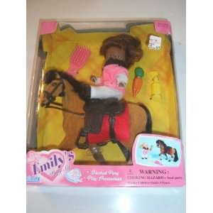 Emilys Pony Se By Excie African American Girl Doll
