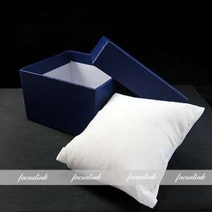 ELEGANT PRESENT GIFT BOX CASE CUSHION FOR BANGLE JEWELRY BRACELET