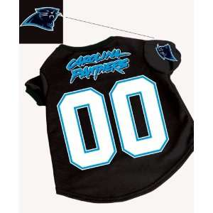 the NFL   Carolina Panthers Dog Football Jersey   Large