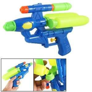 Plastic Blue Yellow Water Squirt Gun Toy for Children Toys & Games