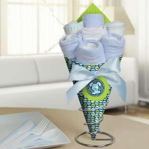 Boy Puppy Dog   Diaper Bouquets   Baby Shower Centerpieces