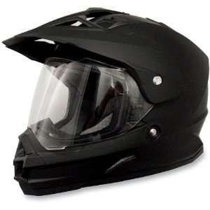AFX FX 39 Dual Sport Motorcycle Helmet Flat Black