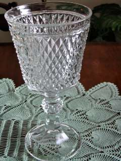 Indiana Glass Diamond Point Candy Chalice no Lid