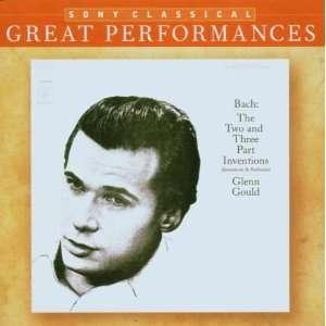 and Three Part Inventions Johann Sebastian Bach, Glenn Gould Music