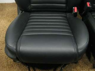 FORD MUSTANG OEM REPLACEMENT LEATHER SEATS 2005 2006 2007 2008 2009