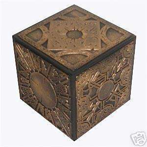 HELLRAISER PUZZLE BOX ANTIQUE GOLD REPLICA PROP PINHEAD