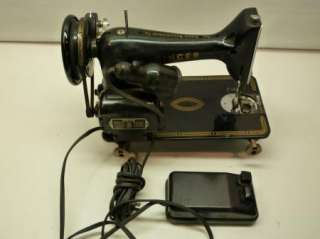 1955 SINGER Electric Sewing Machine MODEL 99