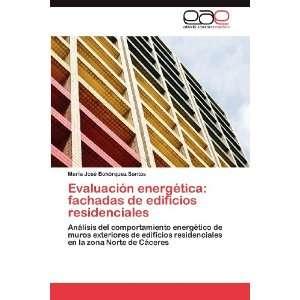 Evaluación energética: fachadas de edificios