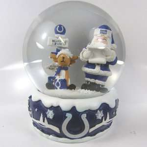 Indianapolis Colts 2011 NFL Holiday Snow Globe