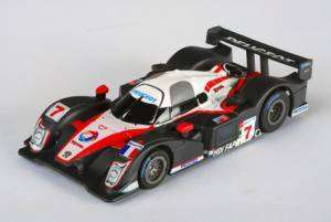 AFX HO SLOT PEUGEOT 908 2008 CAR #7 MEGA G LMP CHASSIS slot car race