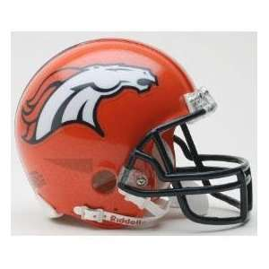 Denver Broncos Mini Football Helmet NFL Fantasy