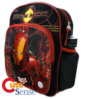 Marvel Iron Man Toddler Small Mini School Backpack Bag