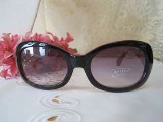DESIGNER STYLE BLACK LENS RED, BLACK, GOLD SUNGLASSES