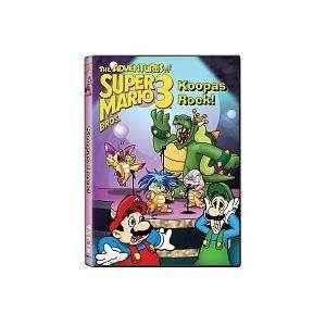Super Mario Bros. Koopas Rock DVD Toys & Games