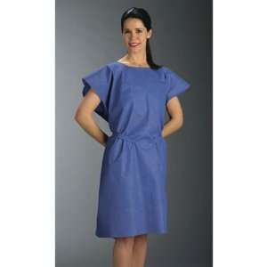 Graham Medical Products Exam Gown Non woven 30 X 42 Blue   Model 234