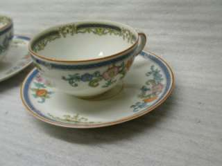 FELDA CHINA GERMANY CUP AND SAUCER LOT OF 3 RARE FIND !