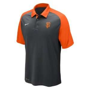San Francisco Giants Anthracite Nike Authentic Collection