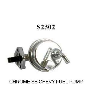 Racing Power S2302 Chrome SB Chevy Fuel Pump Automotive