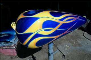 CUSTOM PAINTING ON YOUR TINS fatboy,sportster,softail,etc