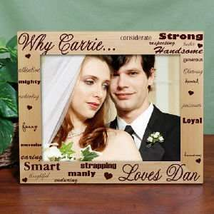Personalied I Love You Wood Picture Frame: Everything Else
