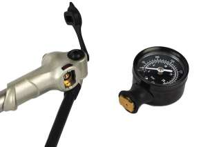 Air Shock Pump with Gauge for Harley Models and Custom Applications