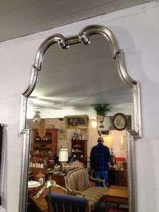 Large Palladio Silver Leaf Decorator Mirror