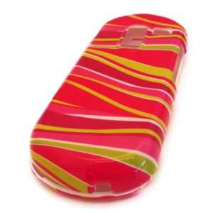 Samsung R455c Straight Talk Pink Yellow Zebra Gloss Design