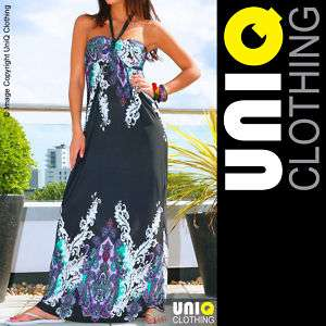 UNIQ P31 J Long Womens MAXI/ Boho/Hippie Summer DRESS