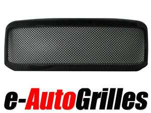 05 07 Ford Super Duty BLK 4m Mesh Billet Grille Shell