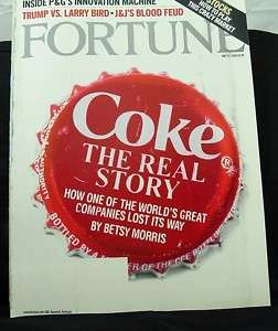 Coke The Real Story Fortune magazine 2004