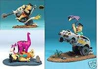McFarlane Hanna Barbera FRED FLINTSTONE figures Dino, Chopper