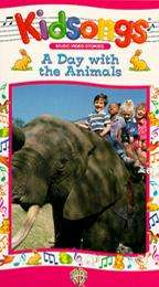 Kidsongs A Day With the Animals VHS