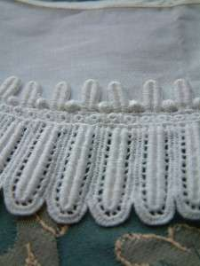 Superb Antique French Authentic Shabby Chic Lace Dress Collar/Yoke
