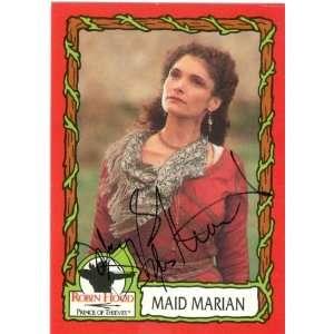 Mary Elizabeth Masterantonio Autographed/Hand Signed trading card