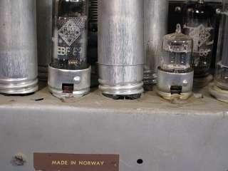 Rare Vintage Tandberg Huldra 5 Multi Band All Tube Radio w/ Telefunken