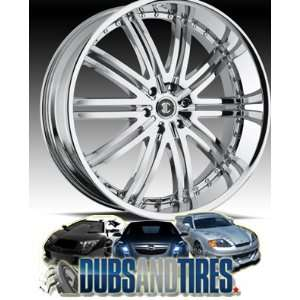 26 Inch 26x10 2 Crave wheels No.11 Chrome wheels rims