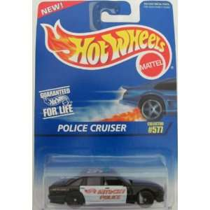 Hot Wheels 1995 577 Police Cruiser 164 Scale Toys