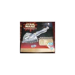 Puzz3D Gungan Sub Star Wars Episode 1 66 Piece Puzzle Toys & Games