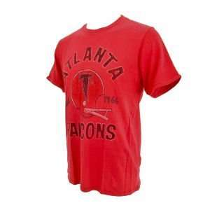 Atlanta Falcons NFL Vintage Helmet T Shirt Sports