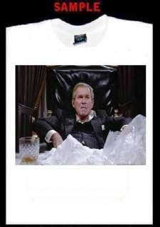 GEORGE BUSH SCARFACE CUSTOM T SHIRT TEE blow coke T318