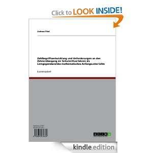 Zahlbegriffsentwicklung und Anforderungen an den Zehnerübergang im